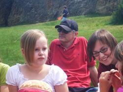 Familienfreizeit 'Mut tut gut' vom 28. Mai bis 01. Juni 2009 in Bodenrod