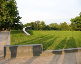 "Denkmal für das Fährunglück der ""Estonia"""