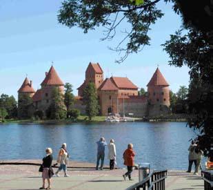 Burg Trakai, Sitz des Großfürsten von Litauen