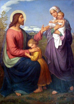 'Jesus als Kinderfreund', 1845' - Marie Ellenrieder