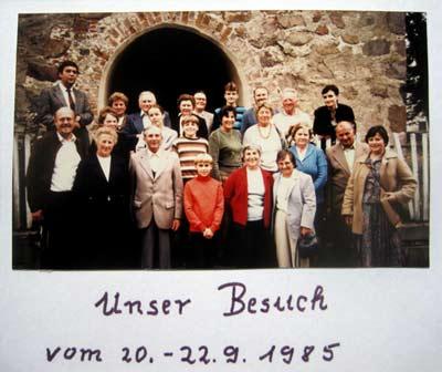 'Gruppenphoto', 1985
