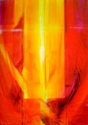 Durchscheinendes Licht, Eberhard Münch