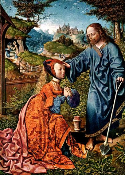 'Noli me tangere', 1507, Jacob Cornelisz van Oostsanen