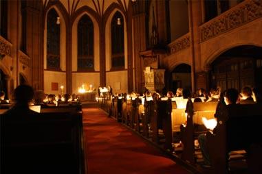Osternacht 2009 in der Dreikönigskirche