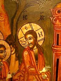'Der Seiende - Einzug Jesu in Jerusalem', Ikonenmuseum Frankfurt