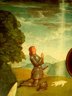 'Gideon', Altar-Bild von Jan Joest (1460 – 1519)