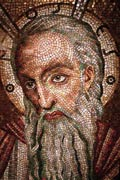 Moses mosaic on display at the Cathedral Basilica of Saint Louis, TheWB, 2008