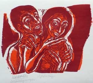 'Vertreibung' - 1983, © Galerie Habdank