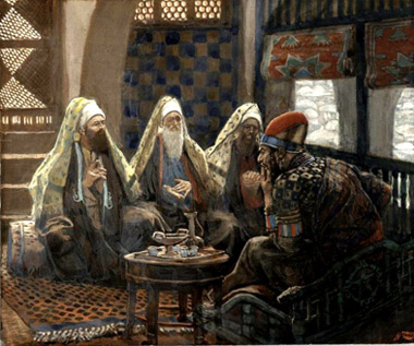 'The Magi in the House of Herod', between 1886 and 1894, James Joseph Jacques Tissot