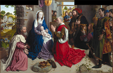 'The Adoration of the Kings', c. 1470, Hugo van der Goes