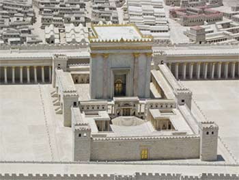 The Second Jewish Temple. Model in the Israel Museum, Ariely, 2008