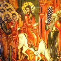 Einzug Jesu in Jerusalem, Ikonenmuseum Frankfurt
