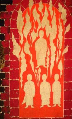 'Drei Männer im Feuerofen', PSch