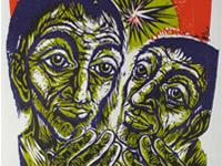 'Folge mir nach', 1989 Walter Habdank. © Galerie Habdank
