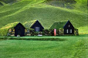 'Grassodenhaus auf Island' - Foto von Stefan Schafft