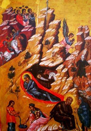 Geburt Christi, Ikonen-Museum Recklinghausen