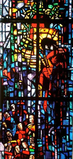 """Jesus als """"Spottkönig"""" - Gefangene des Gewissens, Salisbury Cathedral"""