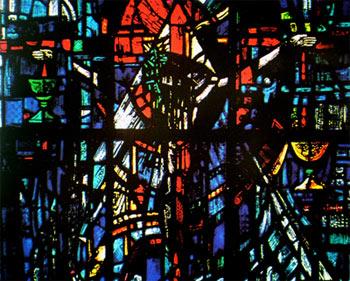 Jesus am Kreuz - Gefangene des Gewissens, Salisbury Cathedral
