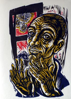 'Morgen des Gefangenen', 1984 - Walter Habdank. © Galerie Habdank