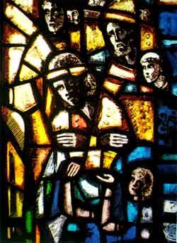 Gefangene von der Ausstrahlung der Auferstehung erfaßt - Gefangene des Gewissens, Salisbury Cathedral