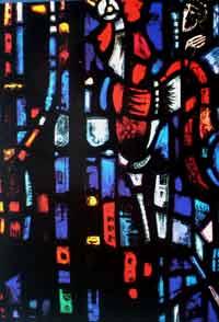 Moment der Umkehr. Petrus vor dem Hahn - Gefangene des Gewissens, Salisbury Cathedral