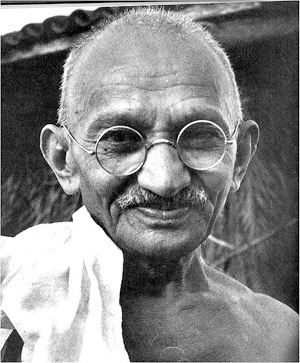 Mohandas K. Gandhi (1869-1948).