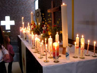 Tauferinnerungsdienst am 11. April 2010 in der Bergkirche