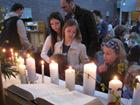 Erzählpantomime und Ansprache zum Tauferinnerungs-Gottesdienst am 11. April 2010 in der Bergkirche