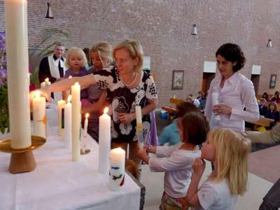 Tauferinnerungsdienst am 08. Mai 2011 in der Bergkirche