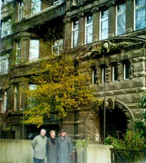 Wolfgang Hensel: früheres Wohnhaus im Leipzig