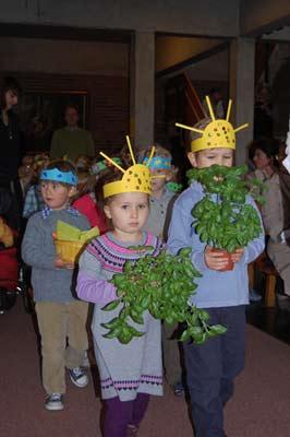 Familiengottesdienst zum Erntedankfest am 03. Oktober 2010 in der Bergkirche