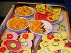 Jugendgottesdienst am 20. November 2008 - Vorbereitungen in der Küche