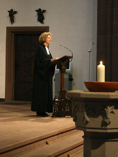 """Pröpstin Gabriele Scherle - Gottesdienst zur Eröffnung der Gedenkausstellung """"Getauft, ausgestoßen, vergessen?"""""""