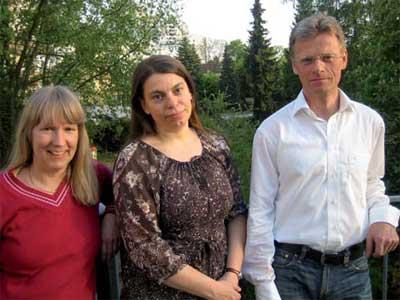 Andrea, Bianca und Jürgen, die drei vom Kindergottesdienst–Team