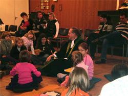 Kleinkindergottesdienst am 25. Oktober 2009