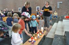 Kleinkindergottesdienst am 24. Juni 2012