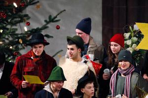 Jugendgottesdienst mit Krippenspiel, 4. Advent, 20. Dezember 2009