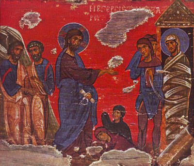 'Resurrection of Lazarus' Private coll., Athens. 12-13 c. Воскрешение Лазаря