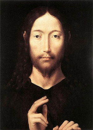 ''Christ Giving His Blessing', 1478, Hans Memling