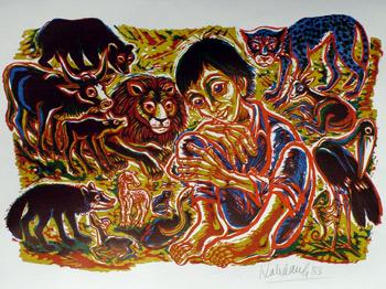 'In terra pax', 1983 - Walter Habdank. © Galerie Habdank