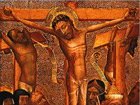 """Predigt: Lukas 23, 33 – 49 """"Vater, vergib ihnen, denn sie wissen nicht, was sie tun"""" am 22. April 11 im Kirchesaal Süd"""