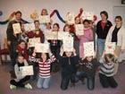 Äktschen Tag mit dem Thema 'Mosaike selber basteln' am 07. Februar 2009