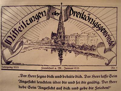 'Logo des Gemeindebriefes Gemeindebrief vom Januar 1935', 2011, PSch