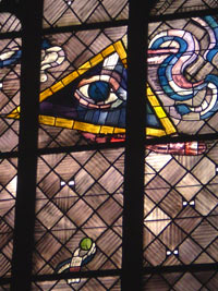 Trinity - East windows of Charles Crodel, Three Kings Church