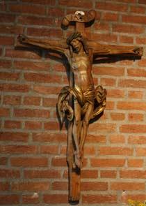 Kruzifix im Studio Berg