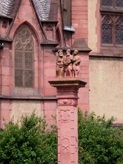 Die Dreikönigskirche der Stadt Frankfurt am Main
