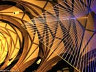 Lichtkunstwerk Transformation in der Dreikönigskirche