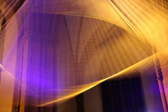 """Lichtkunstwerk """"Transformation"""", 2012, Bianca Mubiiki-Hörig"""
