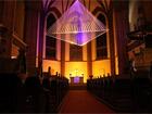 Luminale 2012 - Lichtkunstwerk Transformation in der Dreikönigskirche