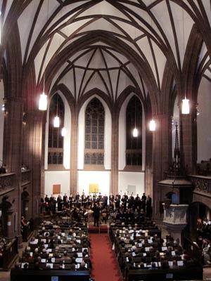 'Messiah' am 30. November 2009 in der Dreikönigskirche
